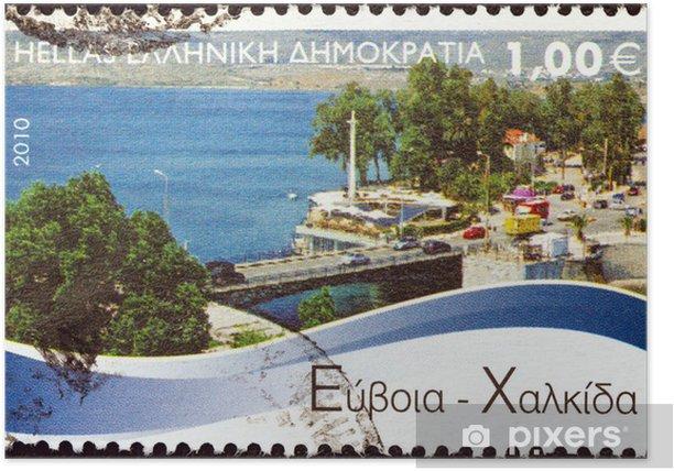 Poster Chalcis, Eubée (Grèce 2010) - Europe