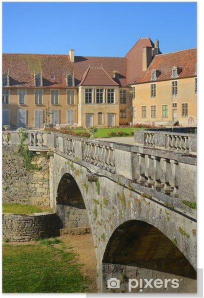 Château d'Époisses, Bourgogne, Frankreich Poster - Europe