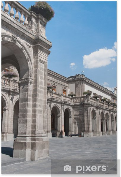 Poster Château de Chapultepec, Mexico - Amérique