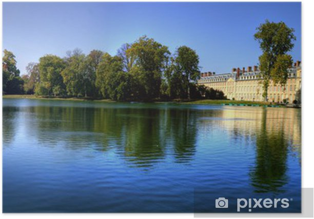 Chateau Fontainebleau Poster - Europe