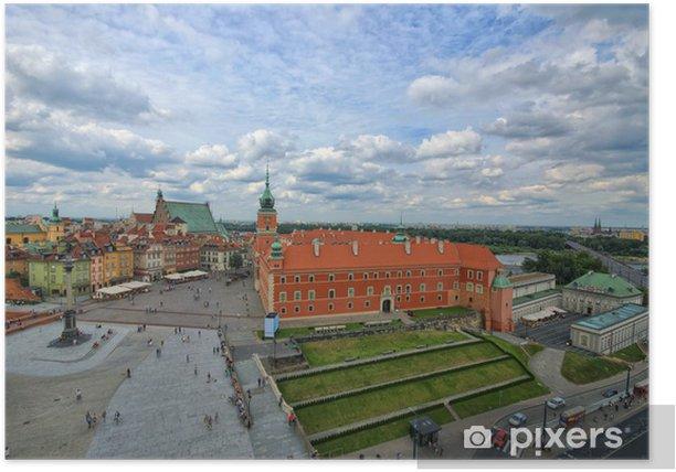 Poster Château royal de Varsovie - Thèmes