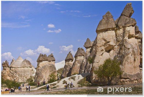 Cheminees De Fees A Pasabag Cappadoce Turquie Poster Pixers