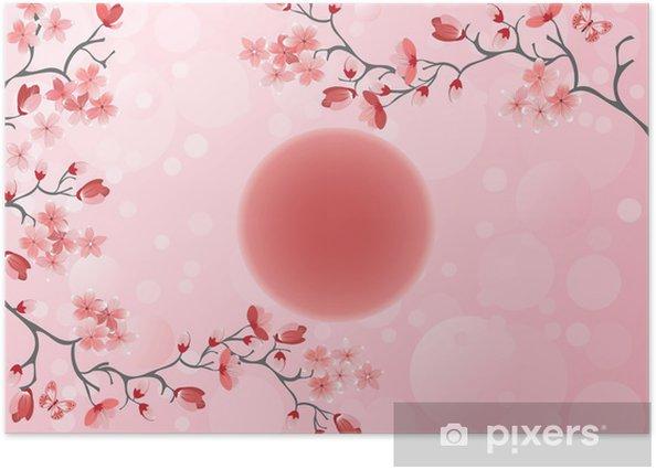 Cherry blossom - Japanese spring Poster - Styles