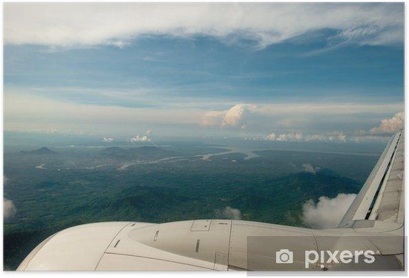 Poster Ciel nuage de plan - Asie