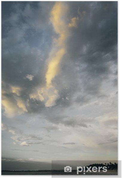 Poster Ciel sombre - Océanie
