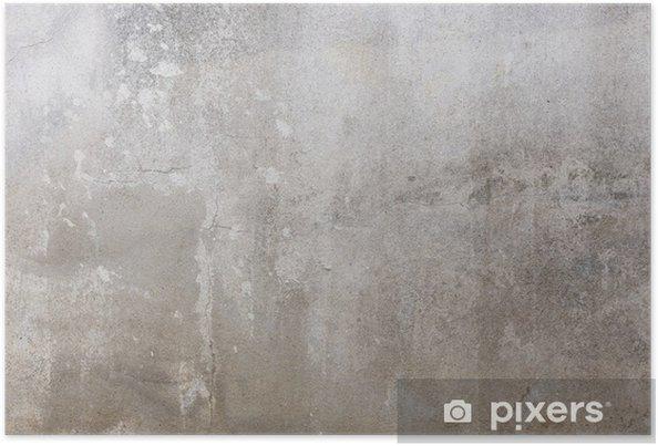 Poster Ciment texture du mur sale rugueux grunge - Industrie lourde