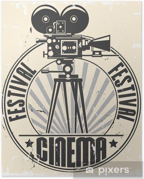 Poster Cinema festival stamp - Thema's