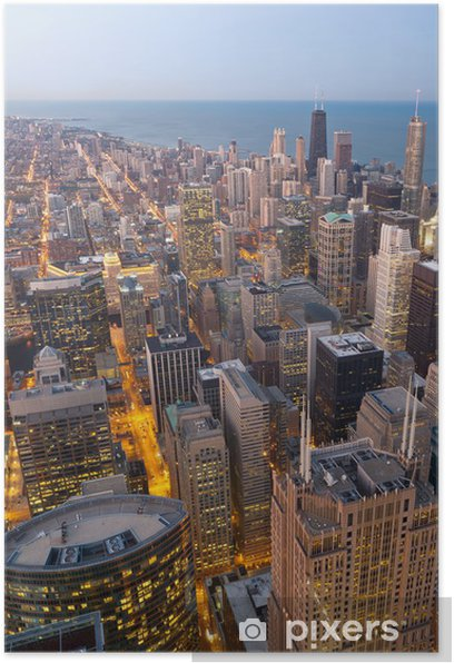 City of Chicago. Poster - America