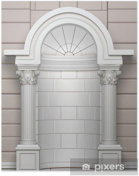 Poster Classique Corinthian Arc - Monuments