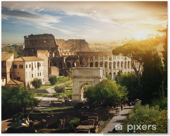 Poster Colisée à Rome, Italie - Thèmes