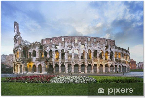 Poster Colisée de Rome - Thèmes
