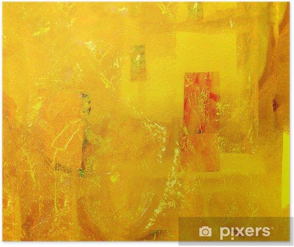 Póster Collage de papel abstracto - Otras emociones