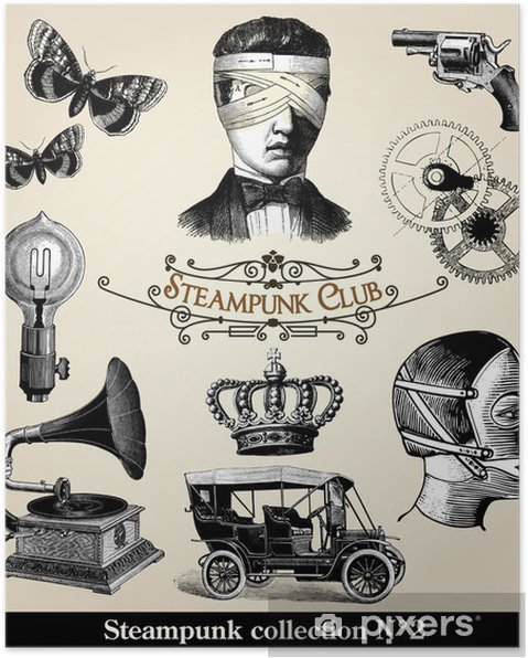 Poster Collection Steampunk 2 - Steampunk