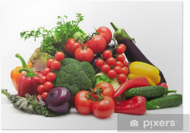 collection vegetables Poster - Themes
