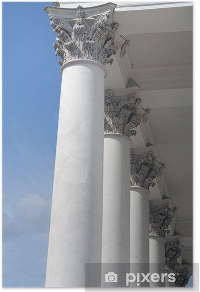 Poster Colonnes corinthiennes - Monuments