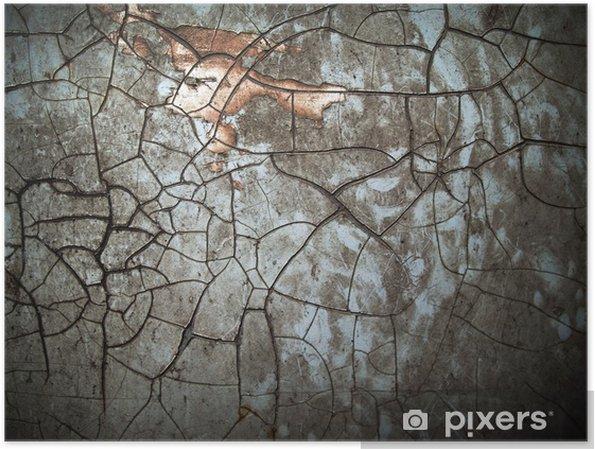 Póster Color de grunge abstracta - Texturas