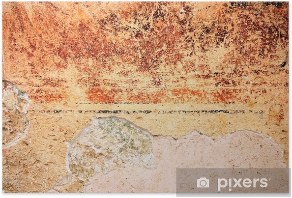 colorful grunge textured old wall background poster pixers we