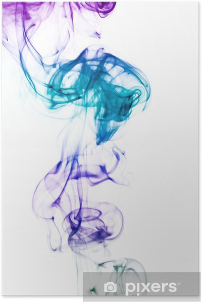 Poster Coloured smoke - Thèmes