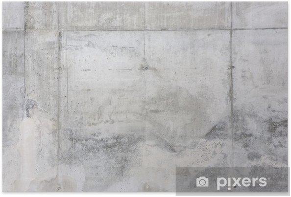 Poster Concrete gevel - zichtbeton - Thema's