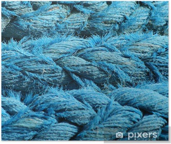 Poster Cordages, cordage, corde, cordes, mer, fruits, bretagne, bleu - Bateaux