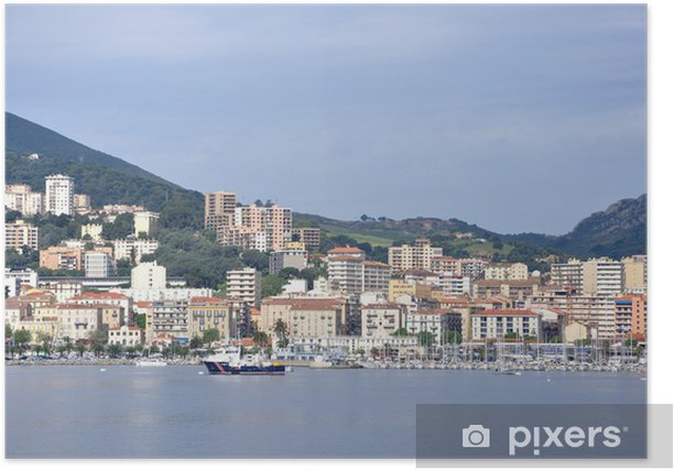 Poster Corse du sud - Vacances