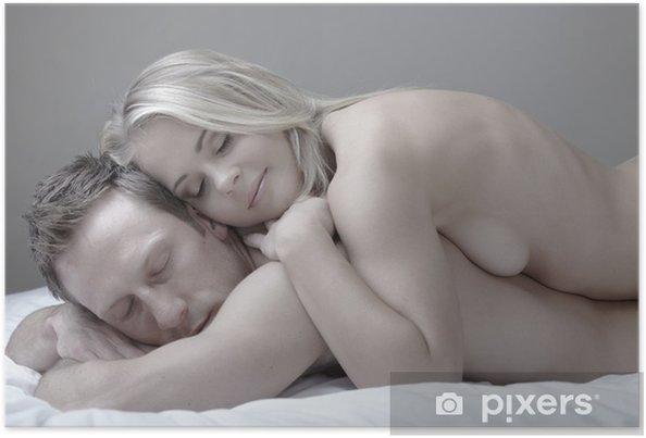 Couple Nu poster couple nu • pixers® - nous vivons pour changer