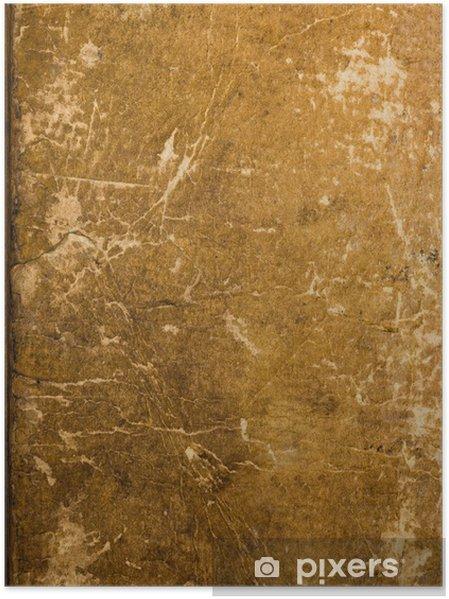 Poster Couverture Du Livre Ancien