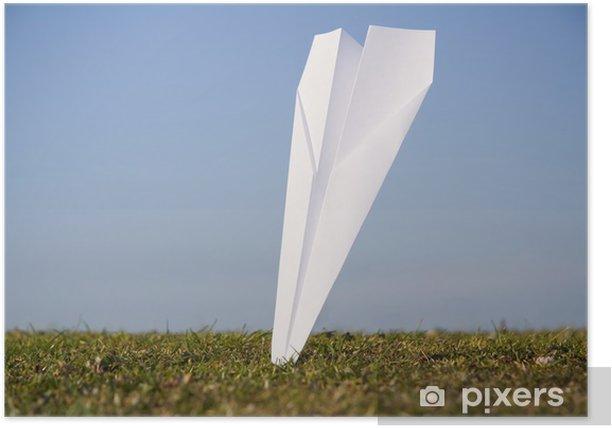 Poster Crash d'un avion. - Vie