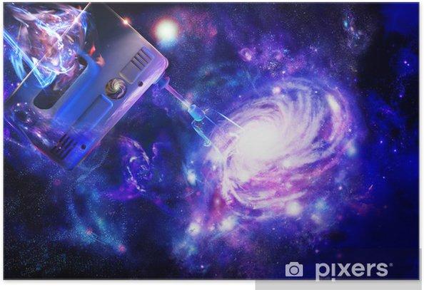 Poster Création d'une galaxie spirale - Thèmes