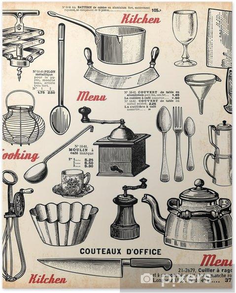 Poster Cuisine - Thema's