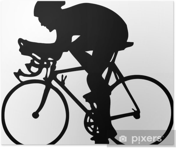 Poster Cycleur - Sports d'extérieur
