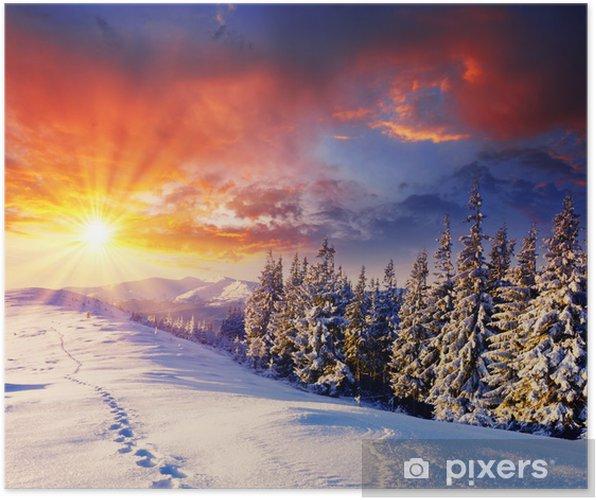 Poster D hiver -