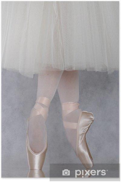 Poster Dancer in ballet pointe - Thèmes
