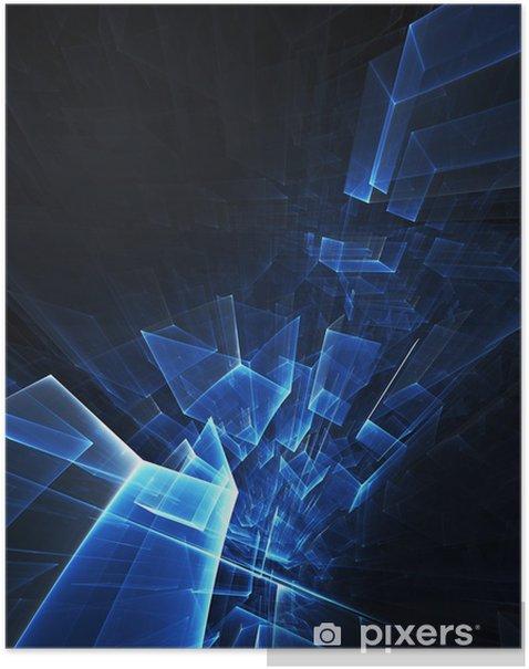 dark blue digital background poster pixers we live to change