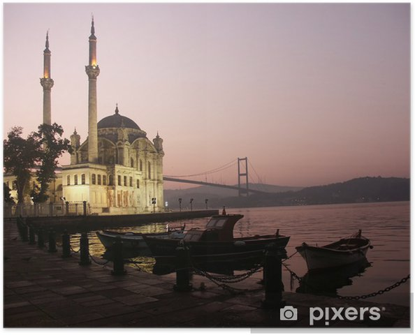 Poster De Buyuk Mecidiye moskee - Thema's