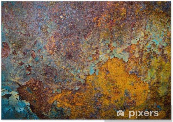 Poster De kern van corrosie - Stijlen