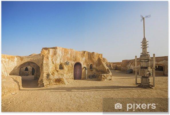 Póster Decoración de Star wars película en el desierto del Sahara, Túnez - Temas