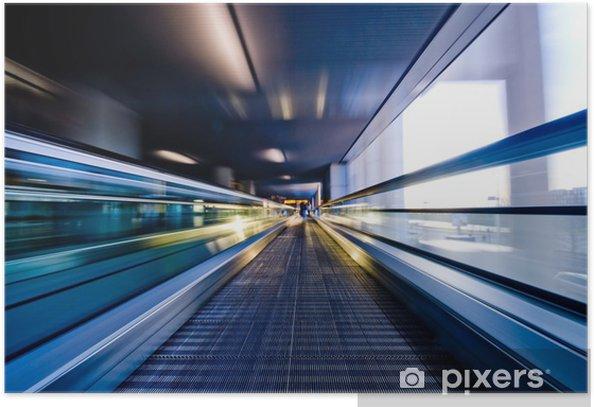 Poster Déplaçant escalator - Thèmes