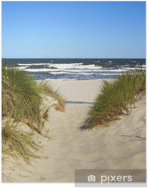 Der Weg zum Strand Poster - Summer