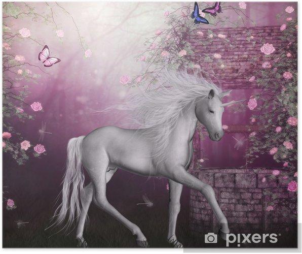 Poster Dernière licorne - Thèmes