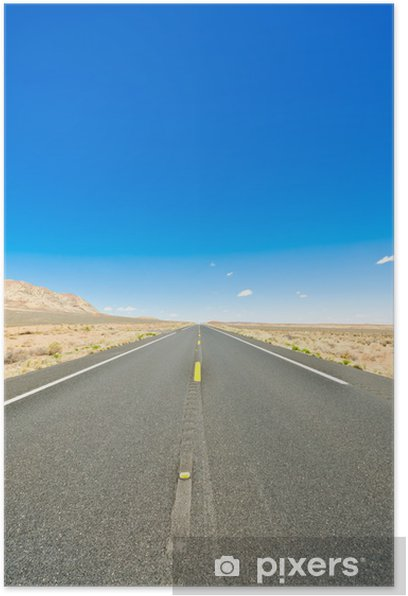 Poster Desert route - Campagne
