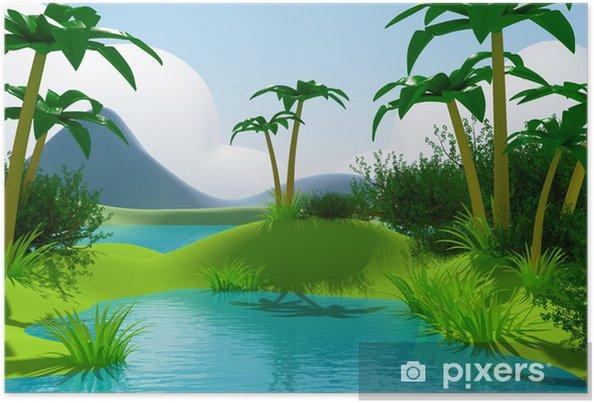 Le Plus Populaire Paysage Dessin Jungle Facile - Random Spirit