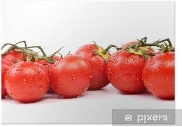 Poster Deux Cluster de tomates - Thèmes