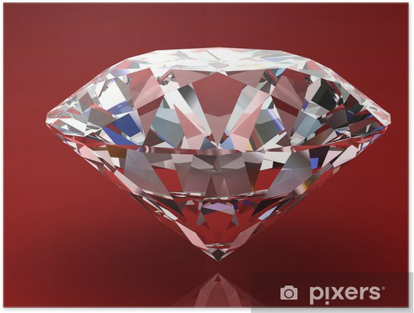Póster Diamante joya - Moda