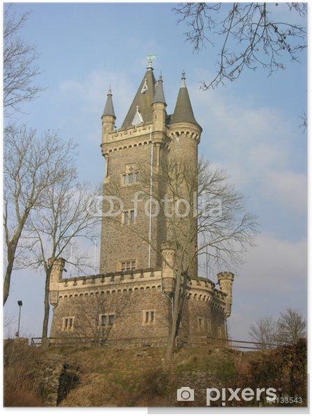 Póster Dillenburg - Wilhelmsturm - Europa