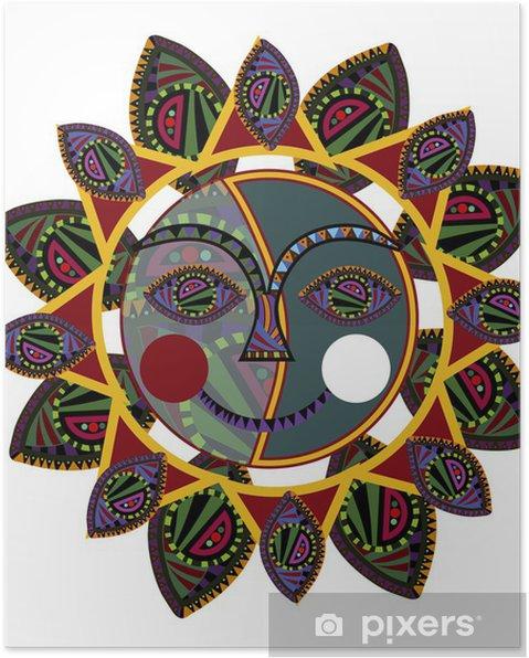 Poster Dim. ethniques - Signes et symboles