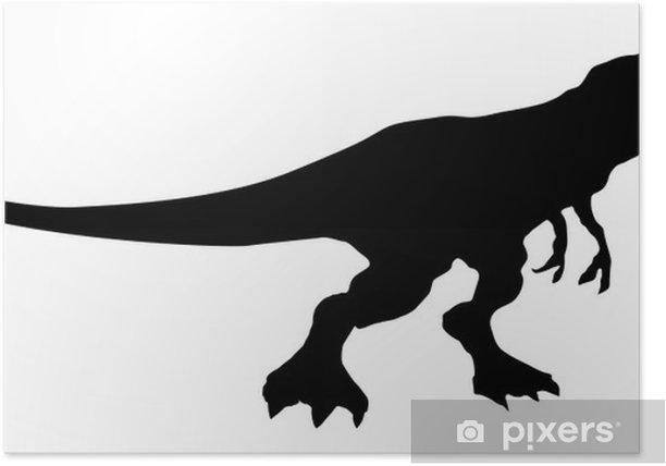 Poster Dinosaurio - Sticker mural