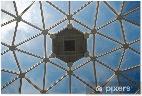 Poster Dôme de verre sous le ciel - Amérique