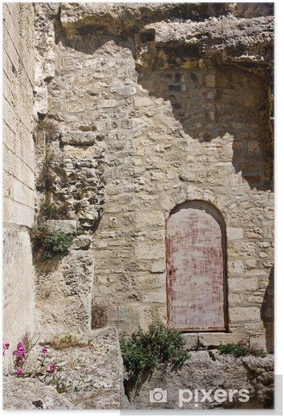 Poster Door at the Château des Baux - Europe