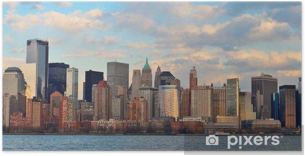 Poster Downtown Manhattan - Autres